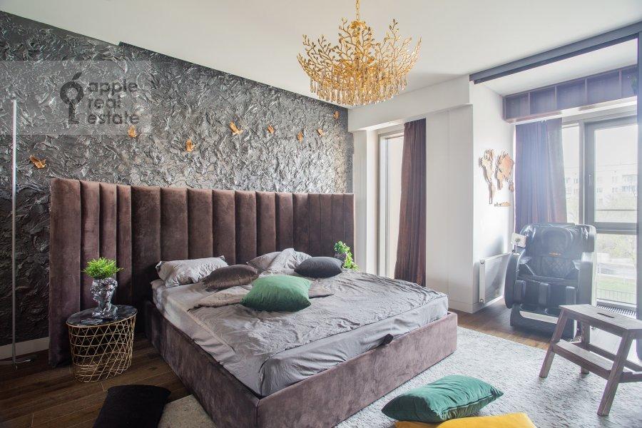 Спальня в 2-комнатной квартире по адресу Бумажный проезд 4