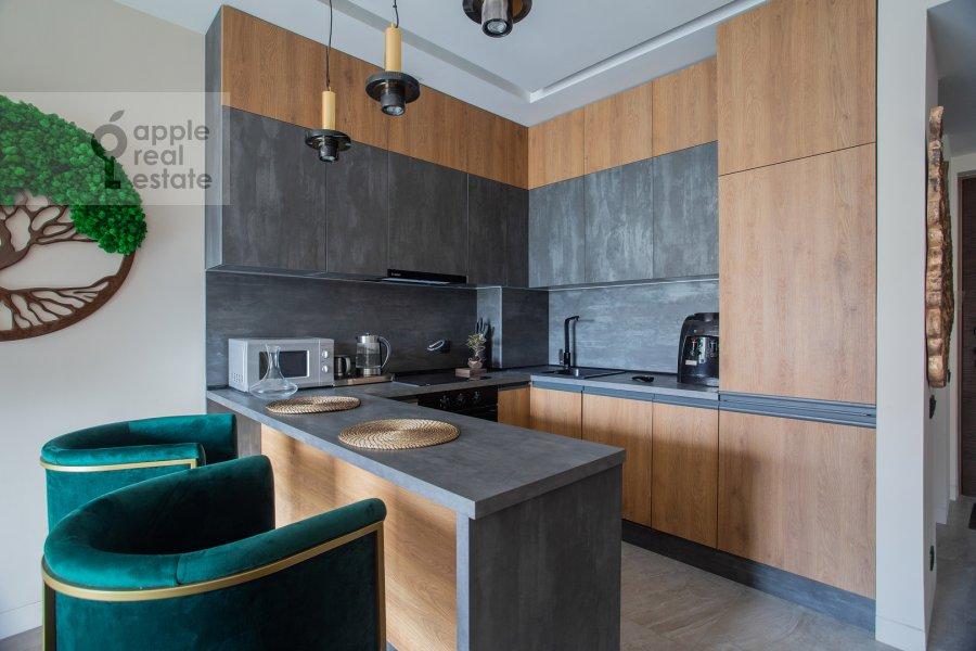 Кухня в 2-комнатной квартире по адресу Бумажный проезд 4