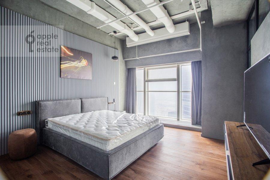 Спальня в 1-комнатной квартире по адресу 1-й Красногвардейский проезд 15