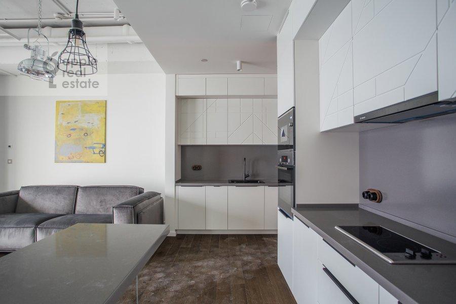 Kitchen of the 2-room apartment at 1-y Krasnogvardeyskiy proezd 15