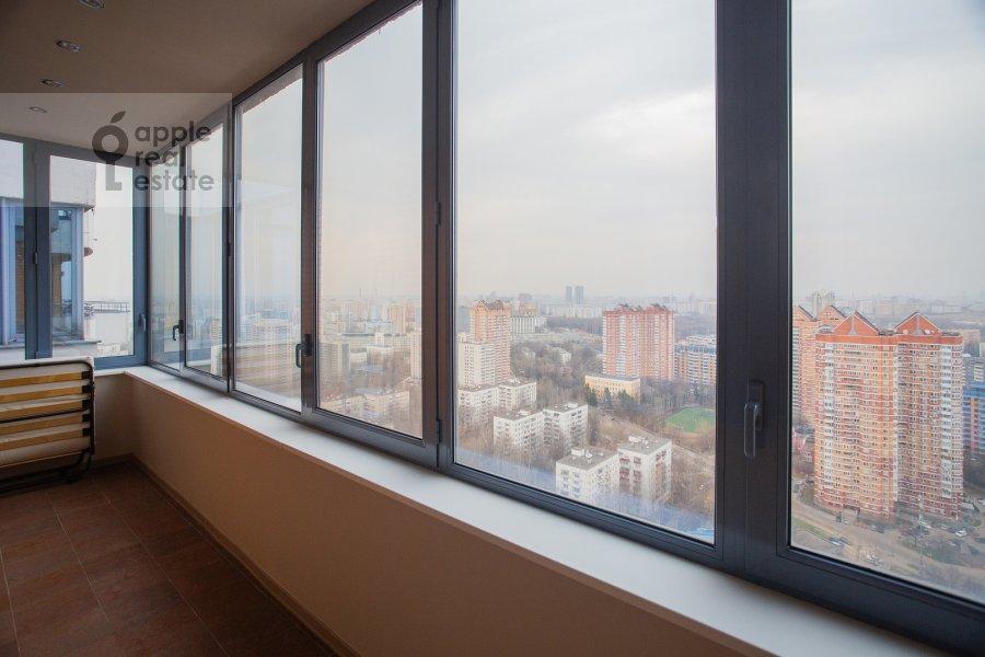 Balcony / Terrace / Loggia of the 6-room apartment at Leninskiy prospekt 106K1