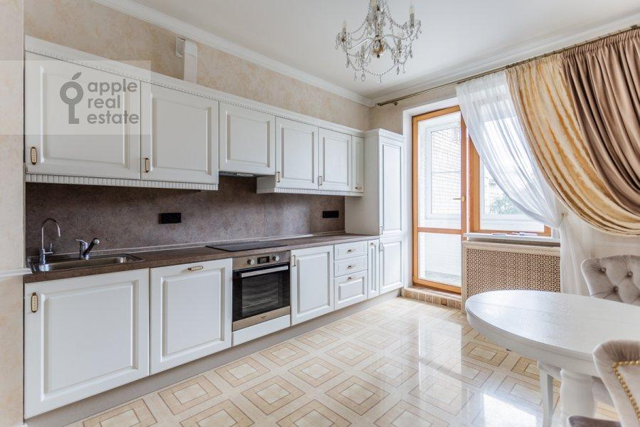 Kitchen of the 3-room apartment at Troitskaya ulitsa 9k1