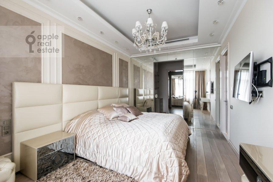 Спальня в 2-комнатной квартире по адресу Трубецкая улица 10