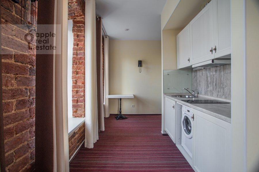 Кухня в квартире-студии по адресу Сретенка 4