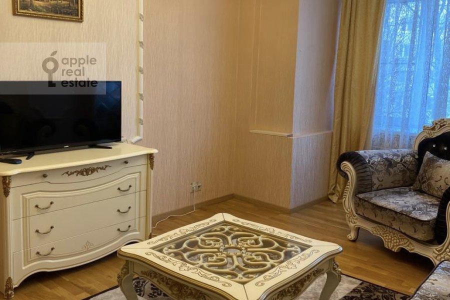Гостиная в 3-комнатной квартире по адресу Студенческая улица 19к4