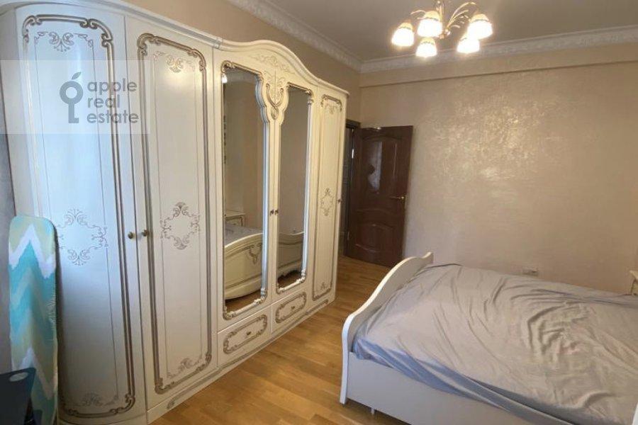 Спальня в 3-комнатной квартире по адресу Студенческая улица 19к4