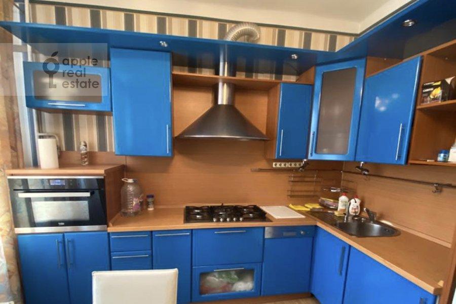 Кухня в 3-комнатной квартире по адресу Студенческая улица 19к4