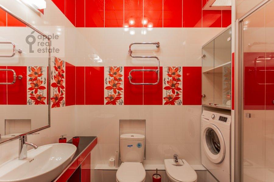 Санузел в 2-комнатной квартире по адресу Ломоносовский проспект 25к2