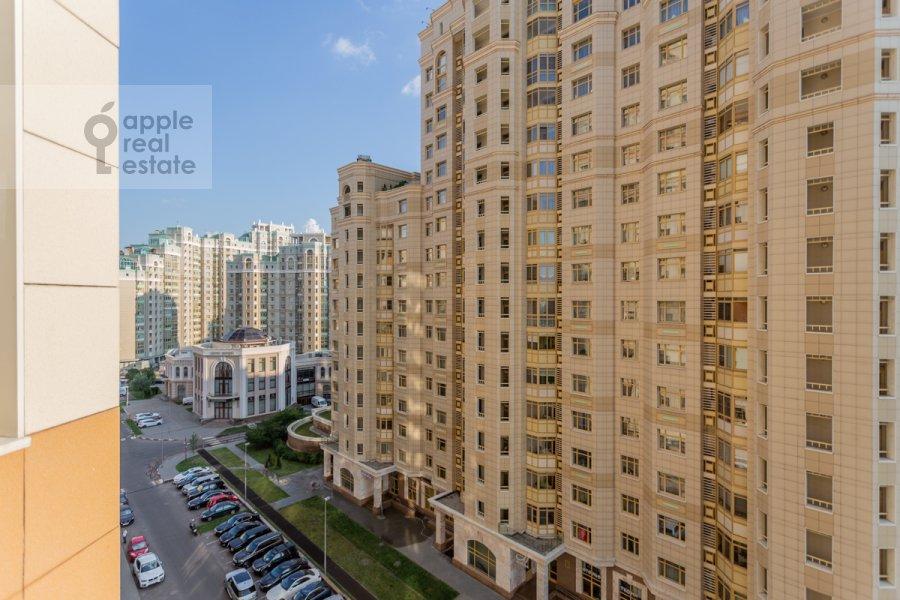 Вид из окна в 2-комнатной квартире по адресу Ломоносовский проспект 25к2