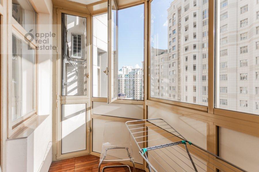 Балкон / Терраса / Лоджия в 2-комнатной квартире по адресу Ломоносовский проспект 25к2
