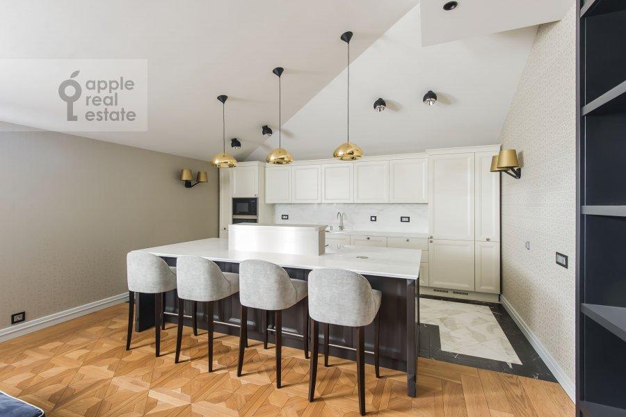 Kitchen of the 2-room apartment at Lavrushinskiy pereulok 11k1