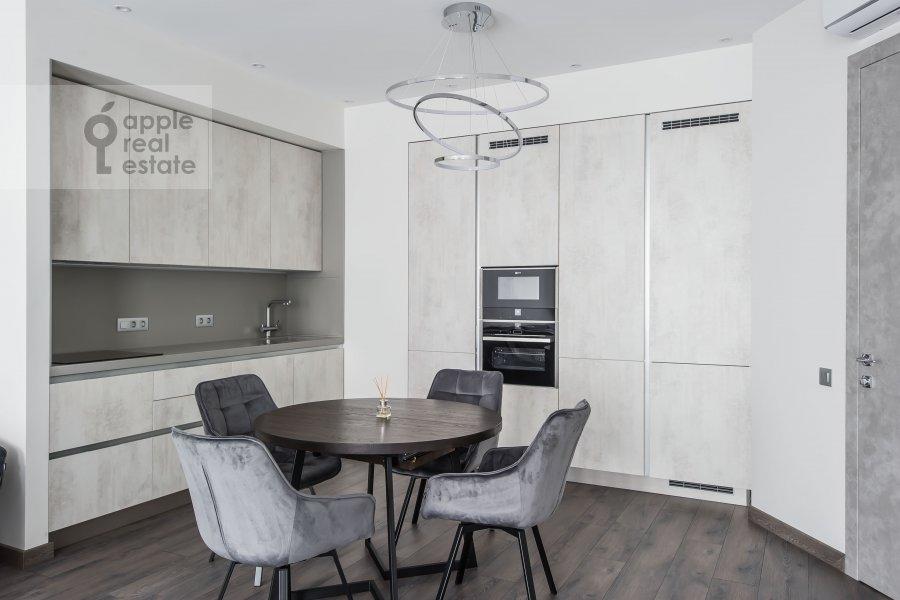 Kitchen of the 4-room apartment at Paveletskaya naberezhnaya 6A