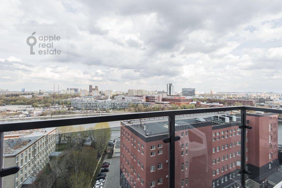 Balcony / Terrace / Loggia of the 4-room apartment at Paveletskaya naberezhnaya 6A