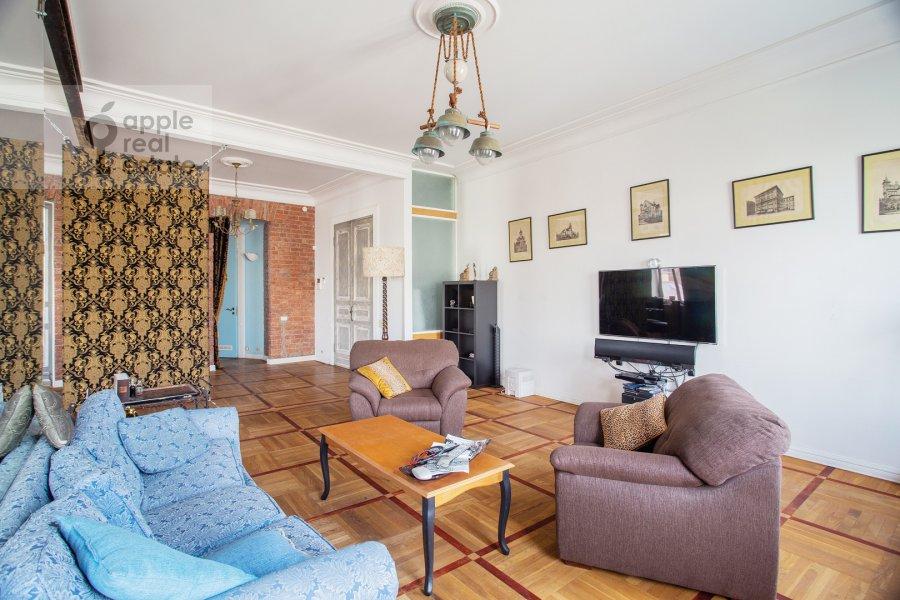 Гостиная в 3-комнатной квартире по адресу Пятницкая улица 17/4С1