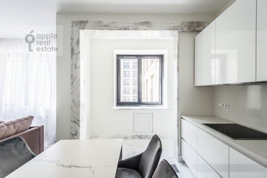 Kitchen of the 3-room apartment at Leningradskiy prospekt 35s2