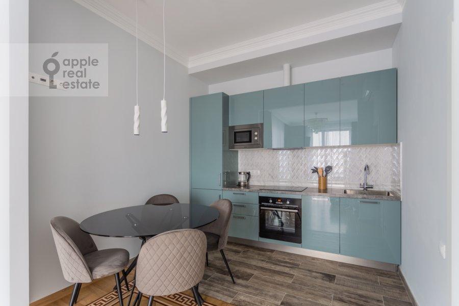 Kitchen of the 2-room apartment at Khodynskaya ulitsa 2