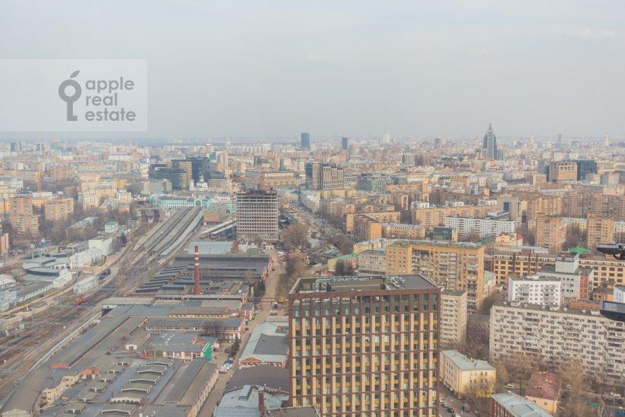View from the window of the 2-room apartment at Khodynskaya ulitsa 2