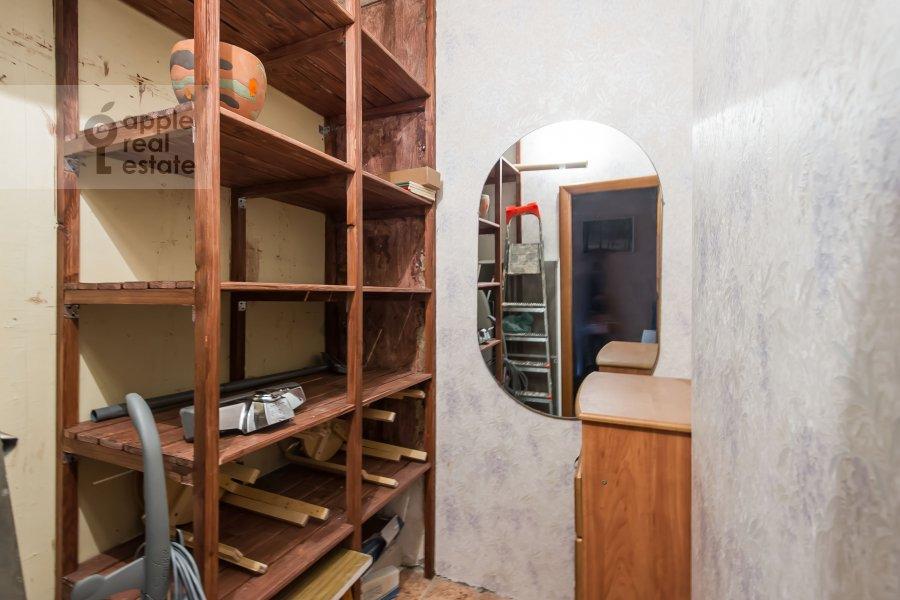 Walk-in closet / Laundry room / Storage room of the 3-room apartment at Kazarmennyy pereulok 10S2