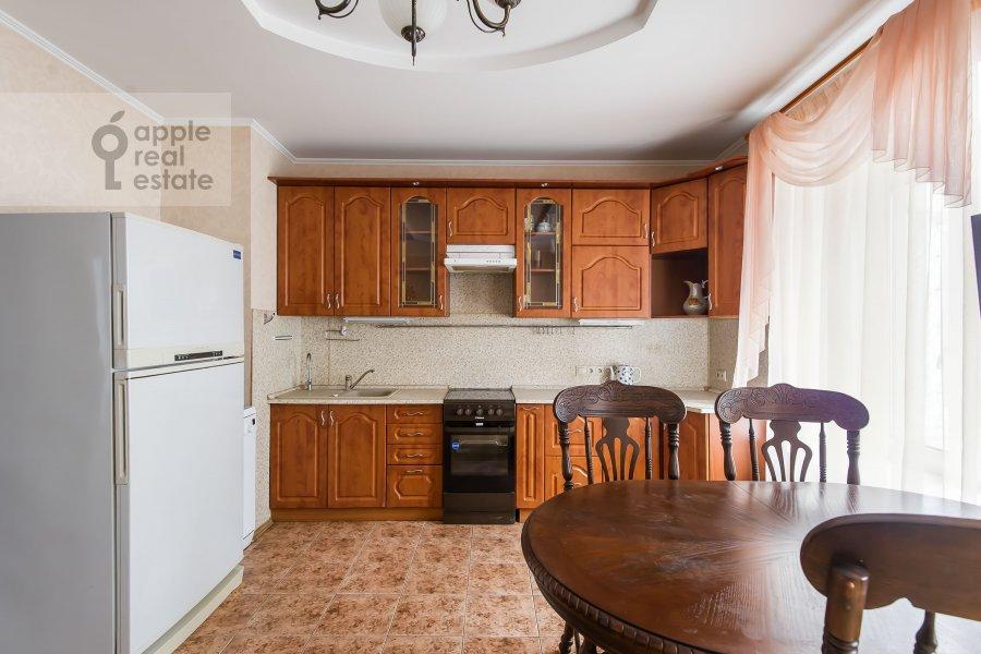 Kitchen of the 3-room apartment at Kazarmennyy pereulok 10S2