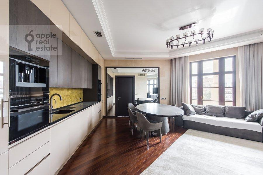 Гостиная в 3-комнатной квартире по адресу Фадеева 4А