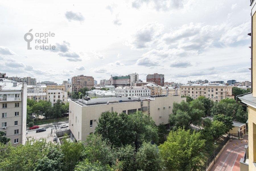 Вид из окна в 3-комнатной квартире по адресу Фадеева 4А