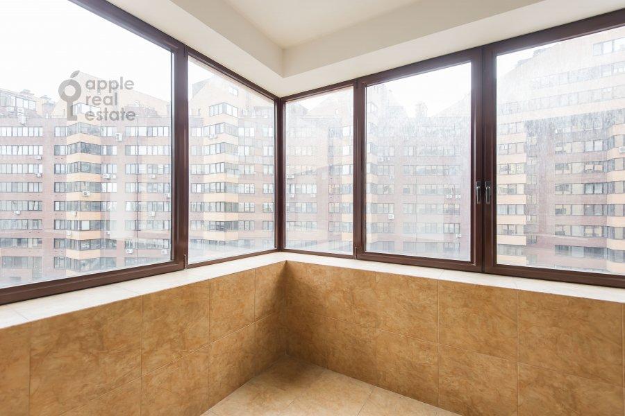 Balcony / Terrace / Loggia of the 3-room apartment at Ruzheynyy pereulok 3