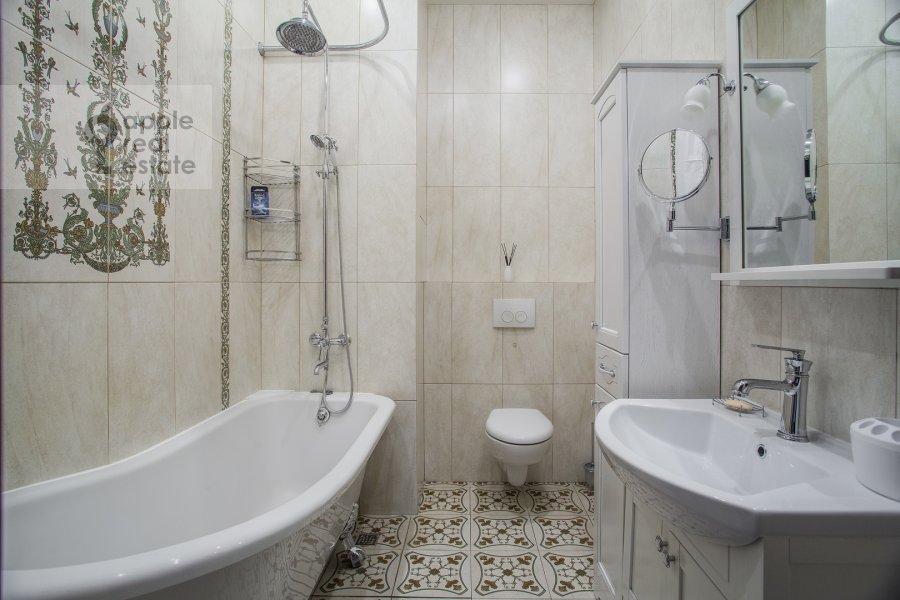 Санузел в 2-комнатной квартире по адресу Фадеева, 4А