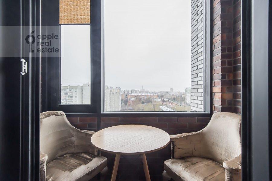 Балкон / Терраса / Лоджия в 2-комнатной квартире по адресу Новочеремушкинская улица 17