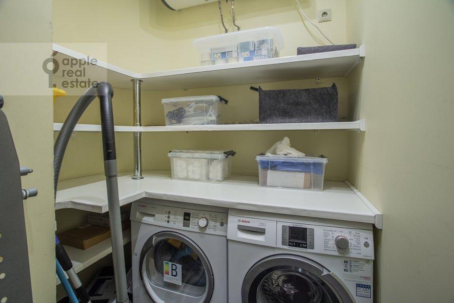 Walk-in closet / Laundry room / Storage room of the 3-room apartment at Kazarmennyy pereulok 3