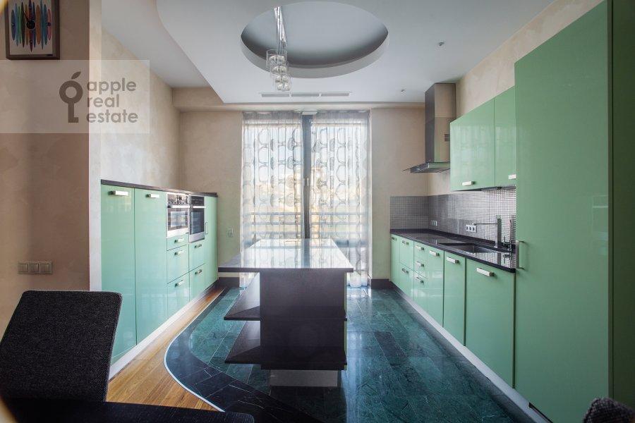 Kitchen of the 3-room apartment at Kazarmennyy pereulok 3