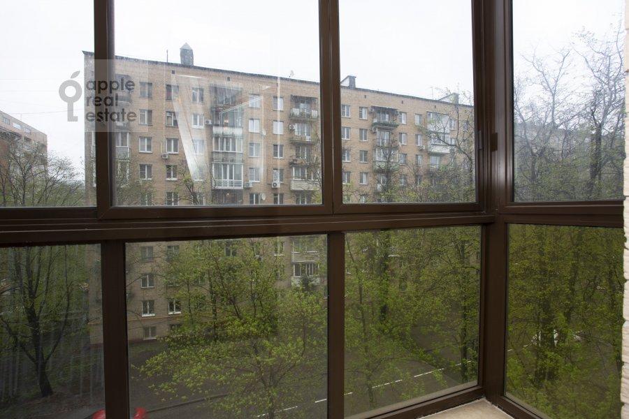Балкон / Терраса / Лоджия в 3-комнатной квартире по адресу Пырьева 2