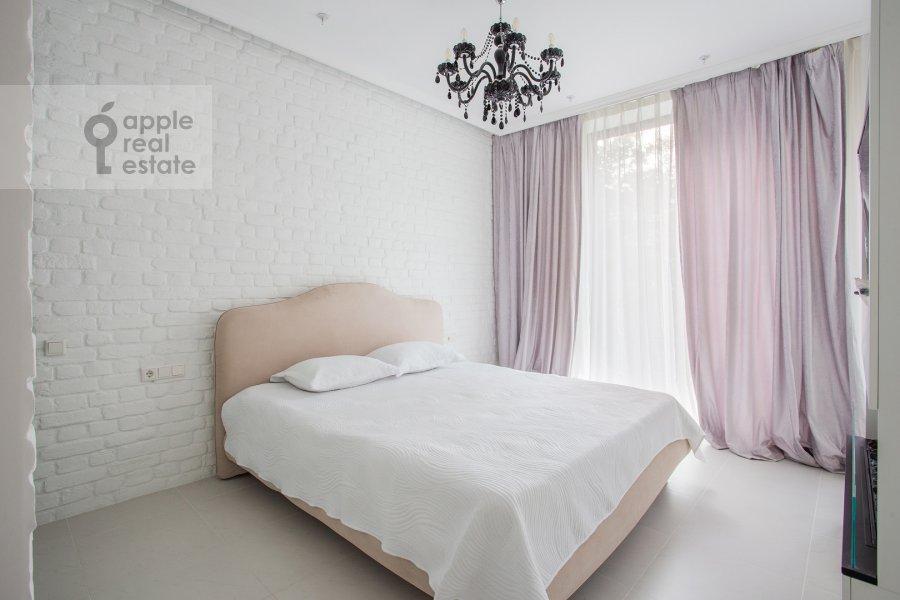 Спальня в 1-комнатной квартире по адресу Ленинский проспект 38Ак3