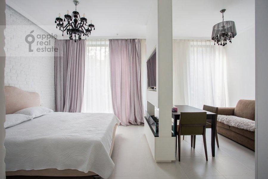 Гостиная в 1-комнатной квартире по адресу Ленинский проспект 38Ак3