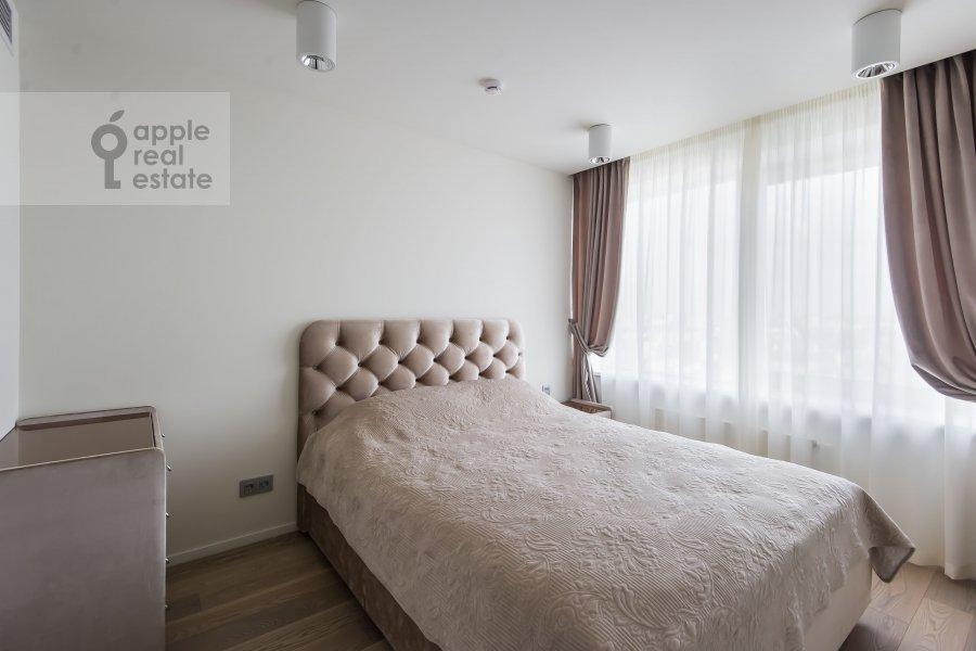 Спальня в 2-комнатной квартире по адресу Новый Арбат 15