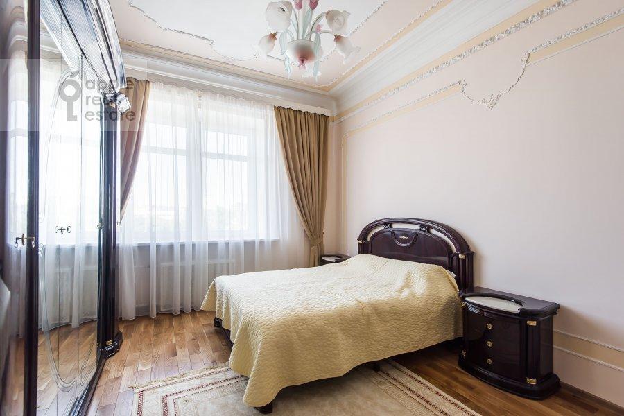 Спальня в 3-комнатной квартире по адресу Новорязанская улица 30