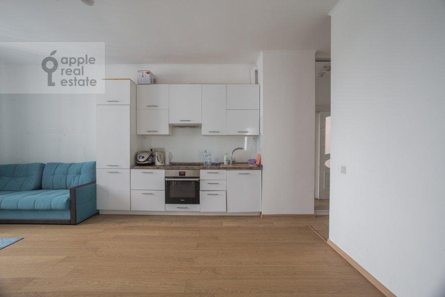 Kitchen of the 3-room apartment at Kronshtadtskiy bul'var 6 k3