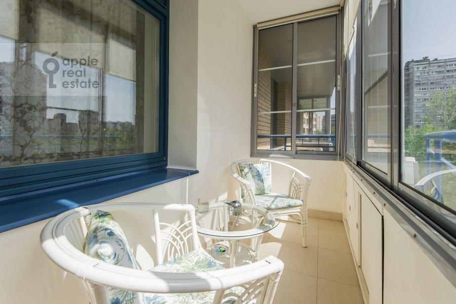 Балкон / Терраса / Лоджия в 2-комнатной квартире по адресу Ленинский проспект 114