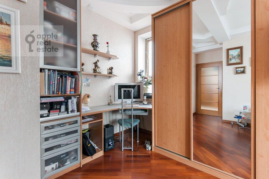 Спальня в 3-комнатной квартире по адресу Чистопрудный бульвар 12К2
