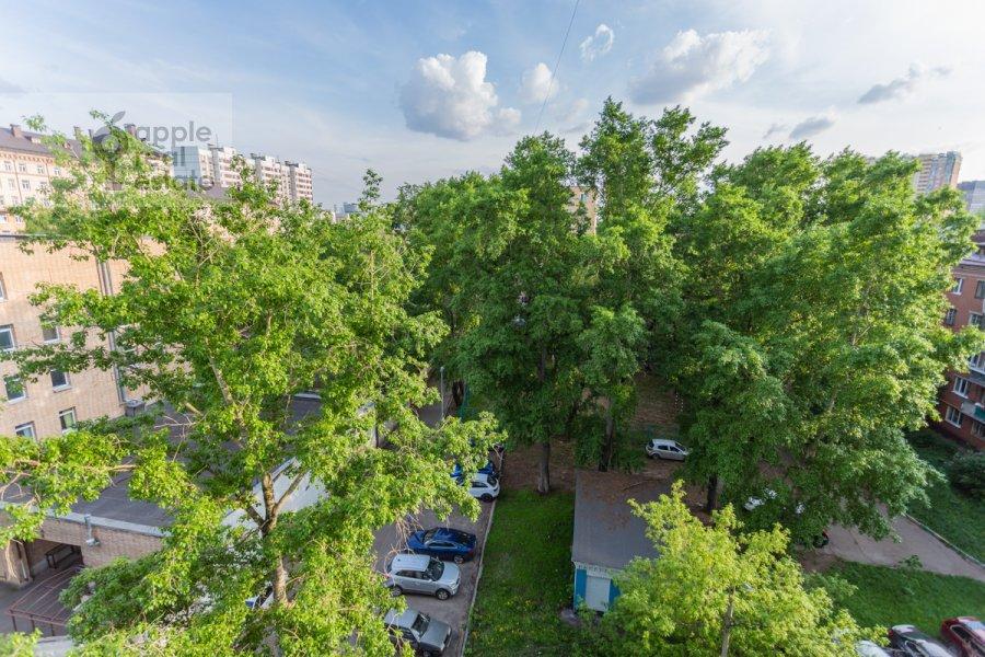 Вид из окна в 2-комнатной квартире по адресу 3-й Балтийский переулок 6к2