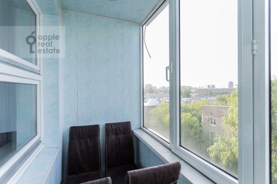 Балкон / Терраса / Лоджия в 2-комнатной квартире по адресу 3-й Балтийский переулок 6к2