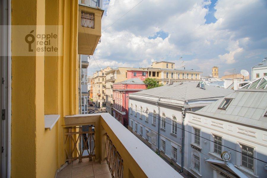 Balcony / Terrace / Loggia of the 6-room apartment at Bol'shoy Afanas'evskiy pereulok 15S1