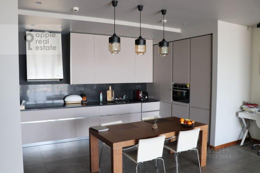 Kitchen of the 3-room apartment at Tsvetnoy bul'var 2