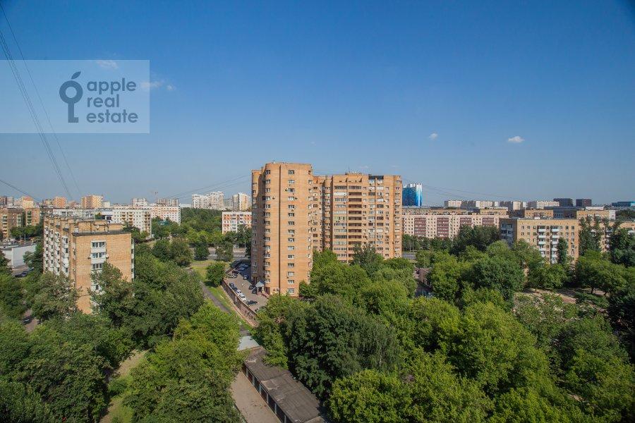 Вид из окна в 3-комнатной квартире по адресу Крутицкая набережная 13