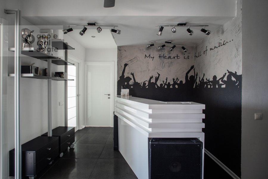 Кухня в 3-комнатной квартире по адресу Крутицкая набережная 13