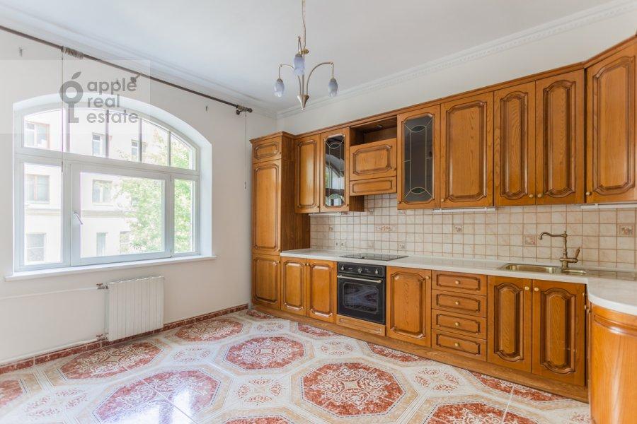 Kitchen of the 3-room apartment at Golikovskiy pereulok 5