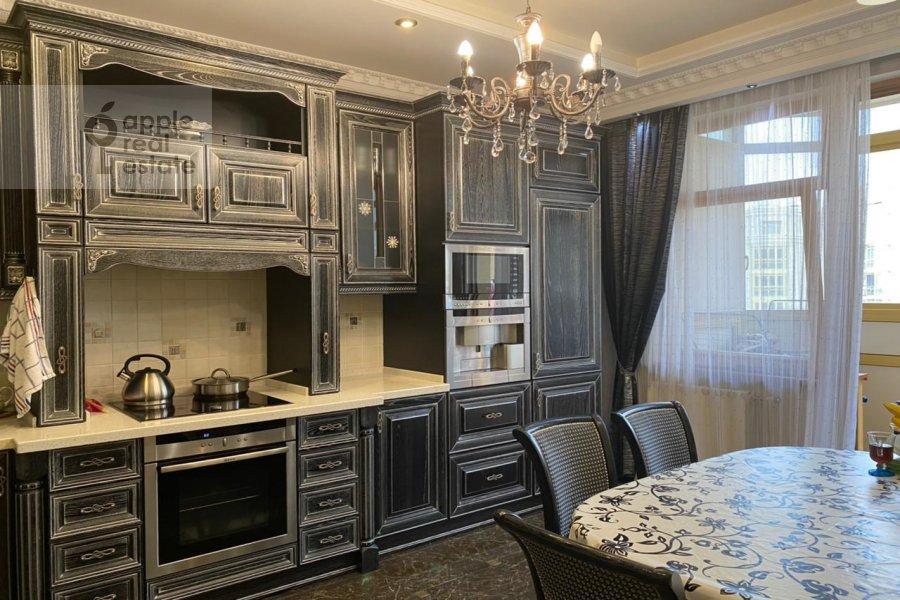 Kitchen of the 3-room apartment at Lomonosovskiy prospekt 25K3