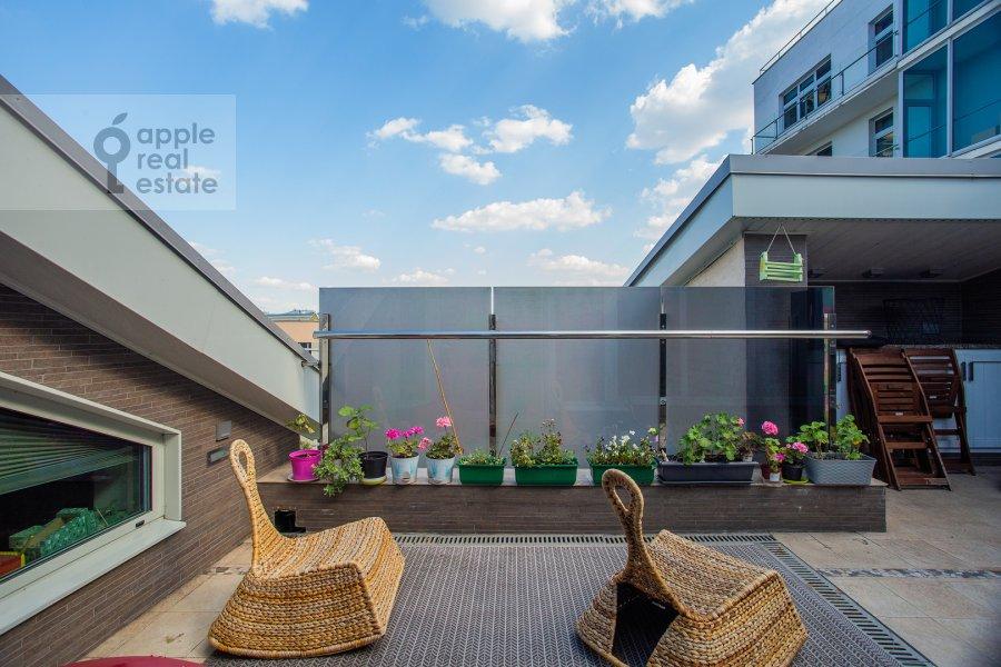 Балкон / Терраса / Лоджия в 5-комнатной квартире по адресу Покровка 42с6