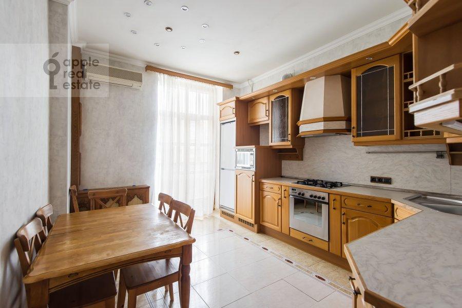 Kitchen of the 3-room apartment at Krasnokholmskaya naberezhnaya 1/15