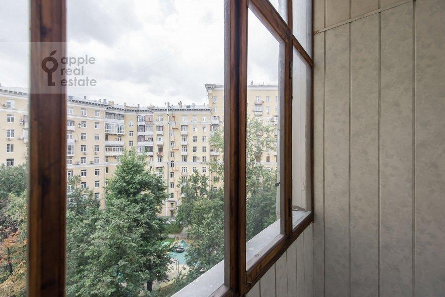Balcony / Terrace / Loggia of the 3-room apartment at Krasnokholmskaya naberezhnaya 1/15