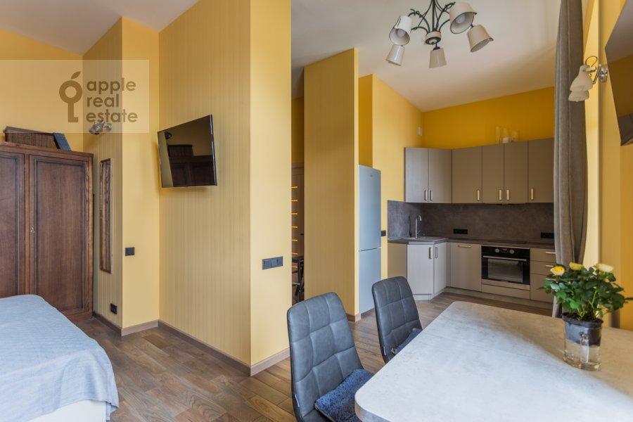 Кухня в 1-комнатной квартире по адресу Покровка 38с1